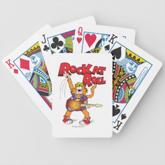 Rock and Roll Cartoon Kat Deck of Cards