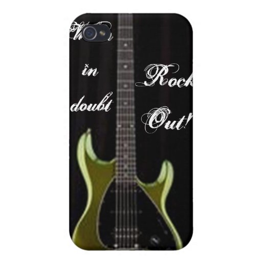 Rock and Roll Case iPhone 4 Case