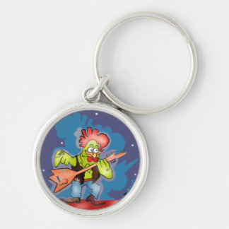 ROCK AND ROLL CHARACTER CREATED BY ALBRUNO. KEYCHAIN