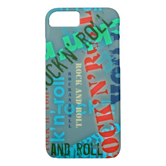 rock and roll cool iPhone 8/7 case