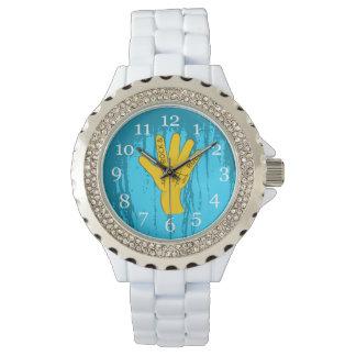 Rock-and-roll de la quiromancía relojes