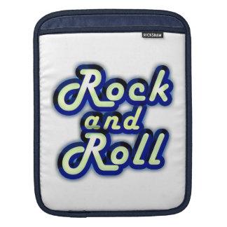 Rock-and-roll de neón manga de iPad
