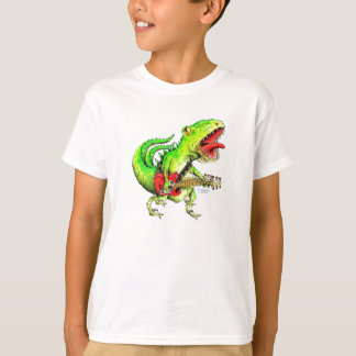 Rock and Roll Dino T-Shirt