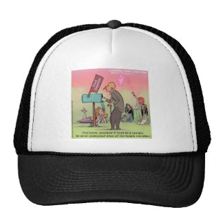 Rock And Roll Fred Funny Trucker Hat