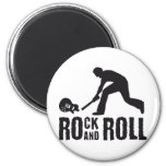 rock and roll fridge magnet