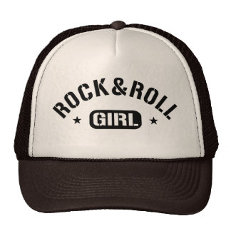 Rock And Roll Girl Trucker Hat