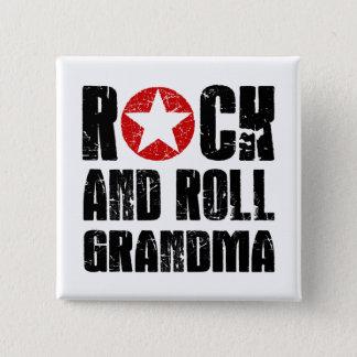 Rock and Roll Grandma Button