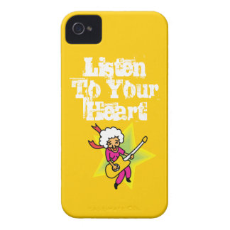 Rock and Roll Grandma iPhone 4 Cases