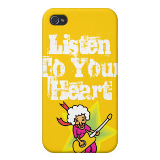 Rock and Roll Grandma Cover For iPhone 4