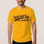 rock and roll grandpa tshirts