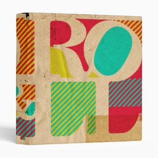 Rock and & Roll grunge music school folder binder