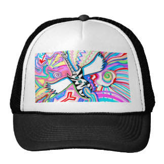 Rock and Roll Guitar Trucker Hat