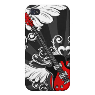 Rock and Roll Guitars  iPhone 4 Case