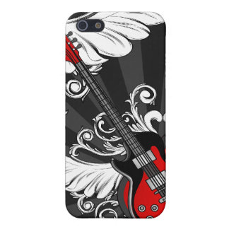 Rock and Roll Guitars  iPhone SE/5/5s Case