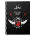Rock and Roll Guitars notebook
