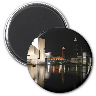 Rock and Roll Hall of Fame Cleveland Ohio 2 Inch Round Magnet