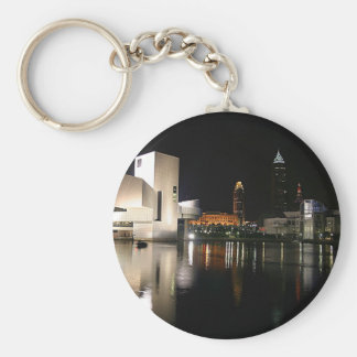 Rock and Roll Hall of Fame Cleveland Ohio Keychain