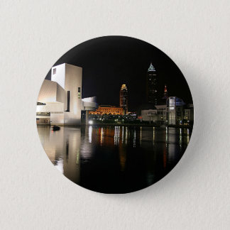 Rock and Roll Hall of Fame Cleveland Ohio Pinback Button
