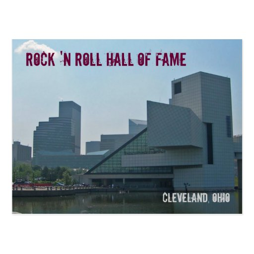 Rock and Roll Hall of Fame Cleveland Ohio Post Cards