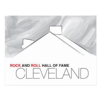 Rock and Roll Hall of Fame Cleveland Postcard