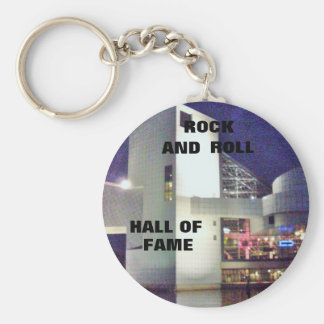 ROCK AND ROLL HALL OF FAME keychain