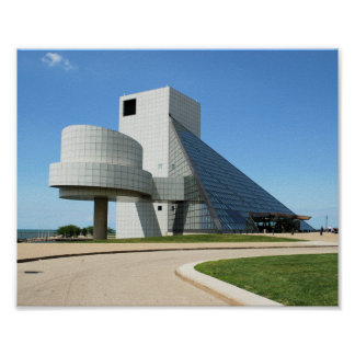 Rock and Roll Hall of Fame print