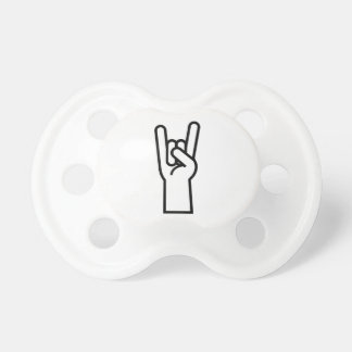Rock and Roll Hand Pacifier