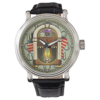 Rock and Roll Jukebox Wristwatch