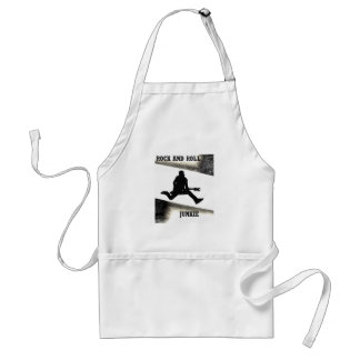 Rock and Roll Junkie Adult Apron