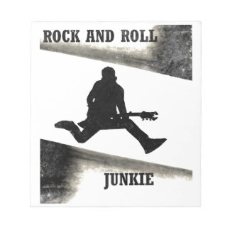 Rock and Roll Junkie Notepad