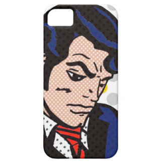 Rock and Roll Man Pop Art iPhone 5/5S Case