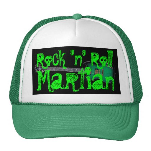 Rock-and-roll Martian Gorros