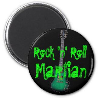 Rock-and-roll Martian Imán Para Frigorífico