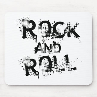 Rock and Roll Mouse Pad