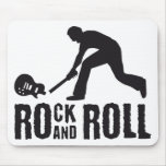 rock and roll mousepads