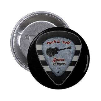 rock-and-roll para siempre pin redondo de 2 pulgadas