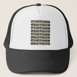 Rock And Roll Piano Keys Trucker Hat
