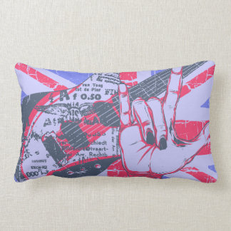 Rock and roll pillow