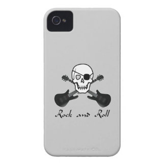 Rock and Roll Pirate iPhone 4 Case-Mate Cases