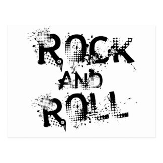 Rock and Roll Postcard