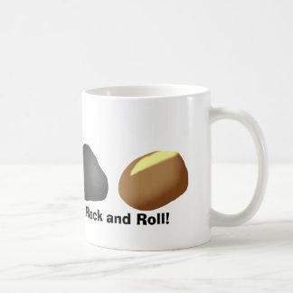 Rock and Roll Pun Coffee Mug