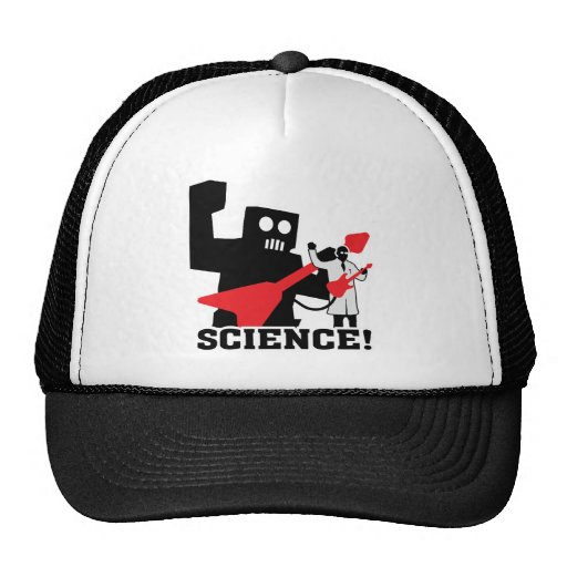 Rock and Roll Robot ~ Science! Trucker Hat