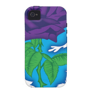 rock and roll rose.png iPhone 4/4S case