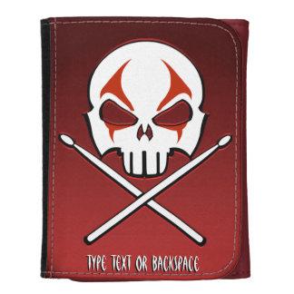 Rock and Roll Wallet Heavy Metal Drummer Wallet