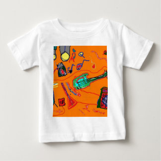 Rock and Roll Wasteland Baby T-Shirt