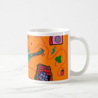 Rock and Roll Wasteland Classic White Coffee Mug