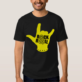 Rock And Roll Yellow T-Shirt