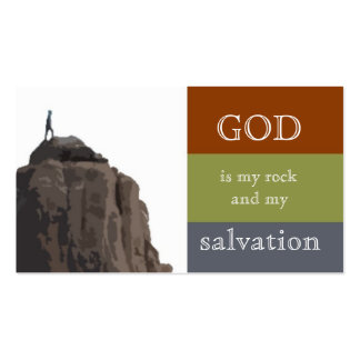 Rock and Salvation Business Card