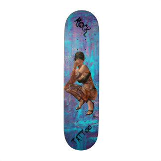 Rock and Tattoo Skateboard Deck