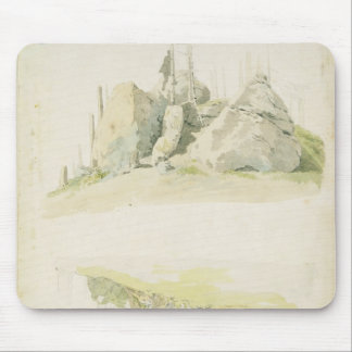 Rock and Tree: Two Studies, 12th July 1810 Mouse Pad